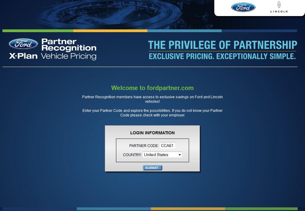 FordPartnerLoginCode