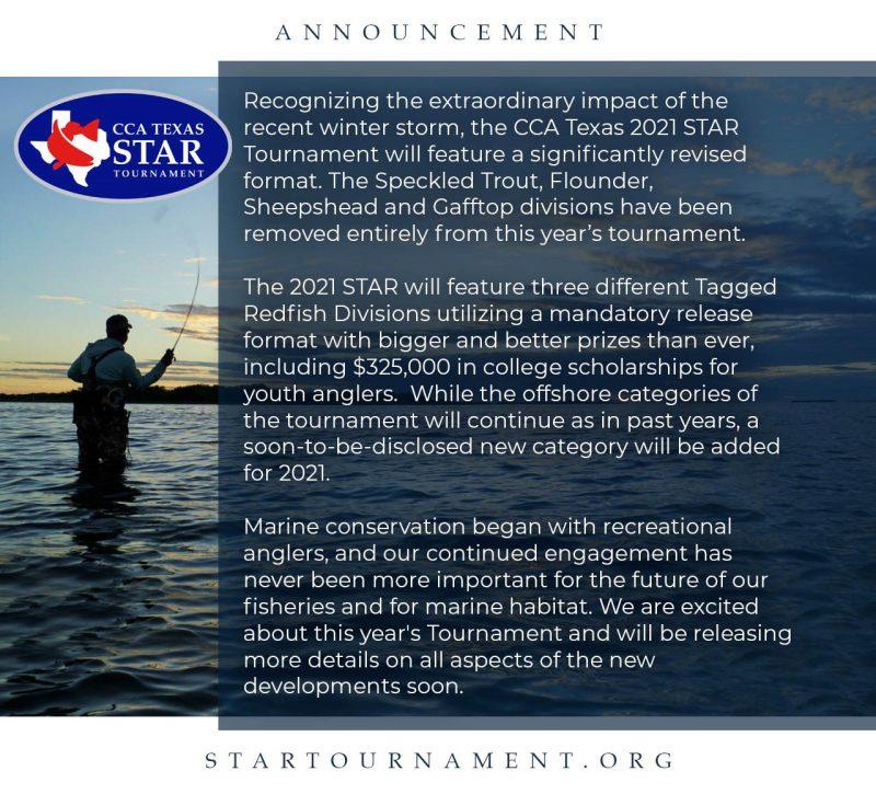 2021 STAR Announcement