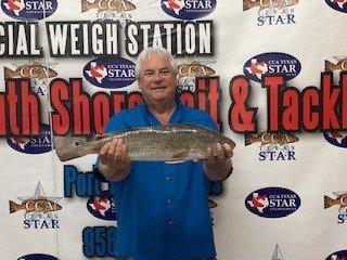 Fernando Gutierrez 3rd Tagged Redfish Winner