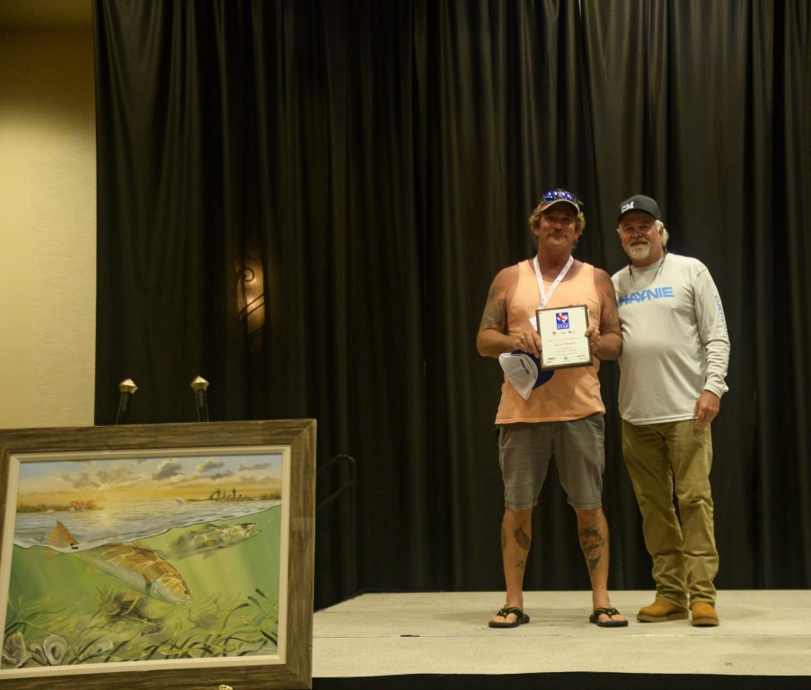 James Johnston 5th Tagged Redfish Winner