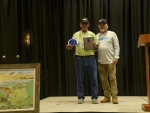 Luis Deleon 2nd Tagged Redfish Winner