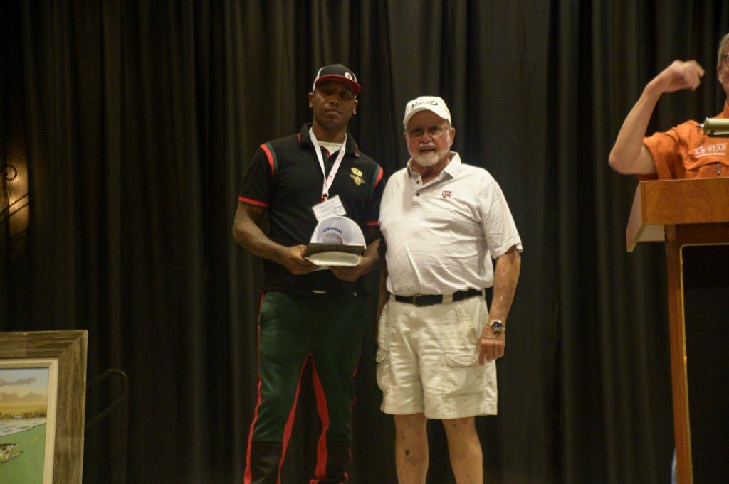 James Malone UC Trout Winner