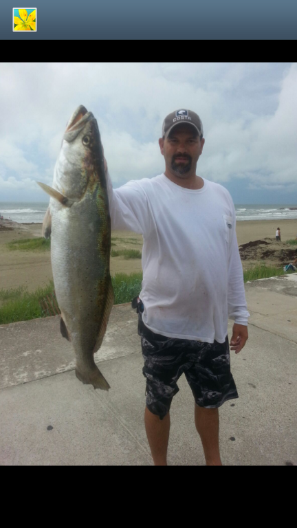 brad_beishir_28-half_inch_trout_caught-in-the-galveston-surf