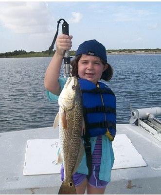 McKenzie with redfish