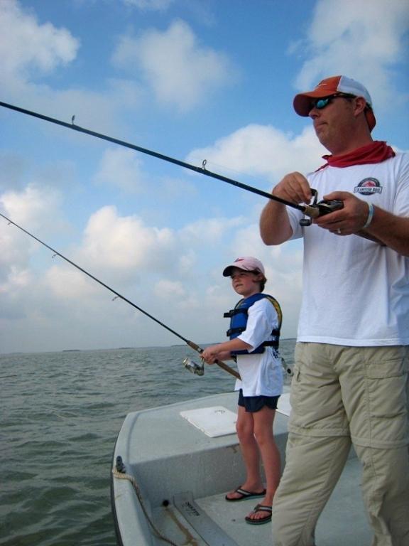 Me and Kenzie fishing