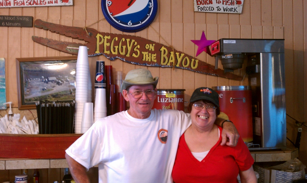 Peggy\'s on the Bayou, Richard & Peggy Albair