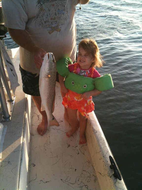 Riley Ann Sablatura, nice Redfish