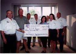 Texas Oilman\'s Sponsorship Check Presentation