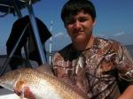 David Garcia, 13, caught this 34
