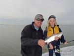 John Blaha & Mia with a nice catch...