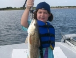 McKenzie with redfish