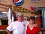 Peggy's on the Bayou, Richard & Peggy Albair