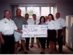 Texas Oilman\'s Sponsorship Check Presentation