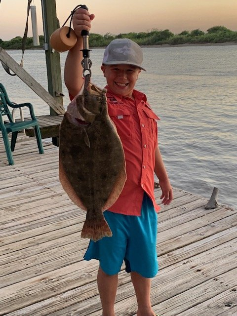 Cain Todd SK Flounder Winner